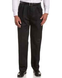 Pantalón de vestir negro de Haggar