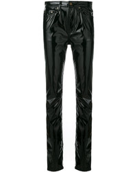 Pantalón de Vestir Negro de Saint Laurent