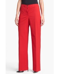 Pantalón de vestir rojo