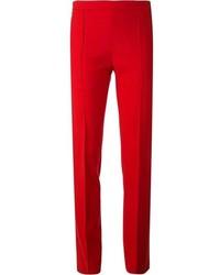Pantalón de vestir rojo de Chloé
