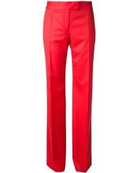 Pantalón de vestir rojo de Stella McCartney