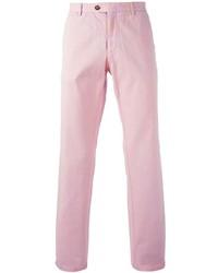 Pantalón de vestir rosado de Etro