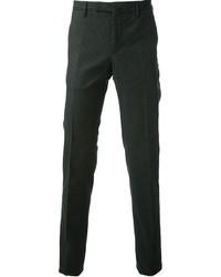 Pantalón de vestir verde oscuro de Incotex