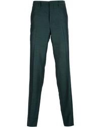Pantalón de vestir verde oscuro de Kenzo