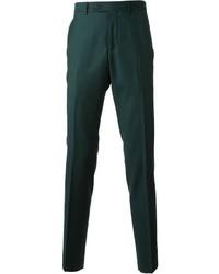 Pantalón de vestir verde oscuro de Mr Start