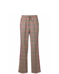 Pantalones anchos a cuadros marrónes de P.A.R.O.S.H.