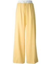 Pantalones anchos amarillos de 3.1 Phillip Lim