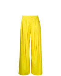 Pantalones anchos amarillos de Jil Sander Vintage