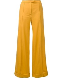 Pantalones anchos amarillos de Nina Ricci