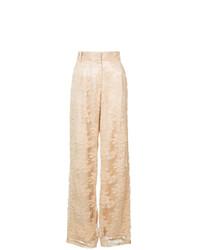 Pantalones anchos amarillos de Ryan Roche