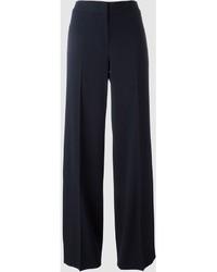 Pantalones anchos azul marino de DKNY