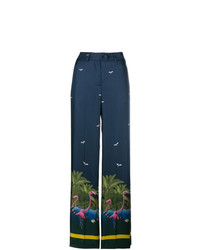 Pantalones anchos azul marino de F.R.S For Restless Sleepers