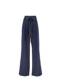 Pantalones anchos azul marino de Milly