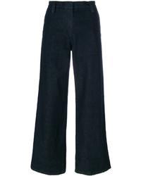 Pantalones anchos azul marino de The Row