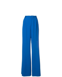 Pantalones anchos azules de Alice + Olivia