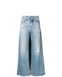 Pantalones anchos celestes de R13