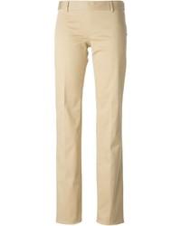 Pantalones anchos en beige de Dsquared2