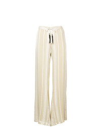 Pantalones anchos en beige de Zeus+Dione