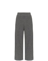Pantalones anchos en gris oscuro de Le Kasha