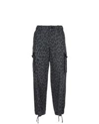 Pantalones anchos en gris oscuro de Proenza Schouler