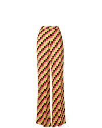 Pantalones anchos en multicolor