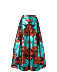 Pantalones anchos estampados en multicolor de DELPOZO