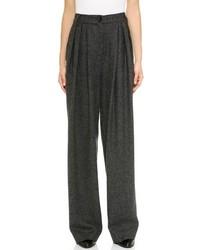 Pantalones anchos gris oscuro original 4512501