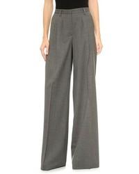 Pantalones anchos grises