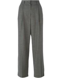 Pantalones anchos grises de The Row