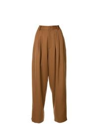 Pantalones anchos marrón claro de G.V.G.V.