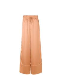 Pantalones anchos marrón claro de Off-White