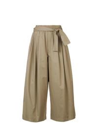 Pantalones anchos marrón claro de Tome