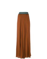 Pantalones anchos marrónes de Roberto Collina