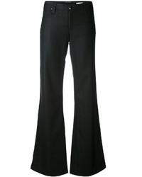 Pantalones anchos negros de Armani Jeans