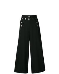 Pantalones anchos negros de Jean Paul Gaultier Vintage