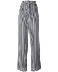 Pantalones anchos negros de MICHAEL Michael Kors