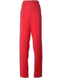 Pantalones anchos rojos de Dsquared2