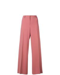 Pantalones anchos rosa de Alberto Biani