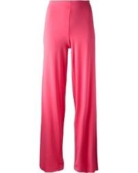 Pantalones anchos rosa de Antonio Marras
