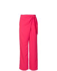 Pantalones anchos rosa de Dion Lee