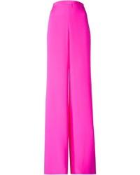 Pantalones anchos rosa de Emilio Pucci