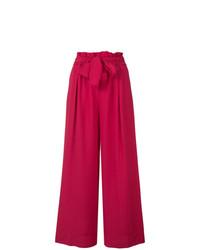 Pantalones anchos rosa de Forte Forte