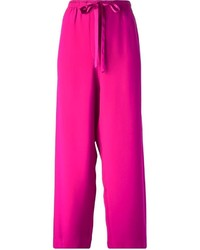 Pantalones anchos rosa de Marc Jacobs