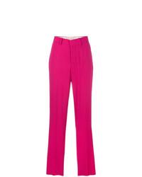 Pantalones anchos rosa de Marni