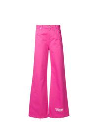 Pantalones anchos rosa de MSGM