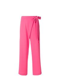 Pantalones anchos rosa de P.A.R.O.S.H.