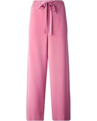 Pantalones anchos rosados de Marc Jacobs