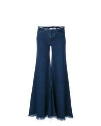 Pantalones anchos vaqueros azul marino de MARQUES ALMEIDA