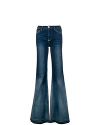Pantalones anchos vaqueros azul marino de Philipp Plein