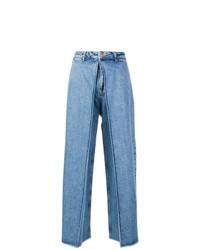 Pantalones anchos vaqueros azules de Aalto